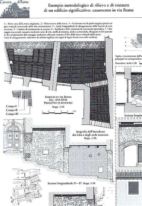 tavole restauro architettonico manuale restauro architettonico rar