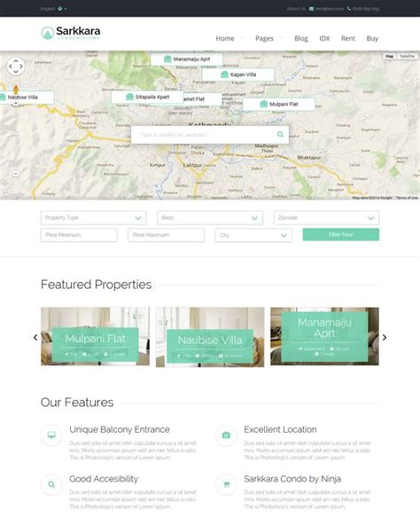 layout form wordpress 21 best 21 more of the best real estate wordpress themes