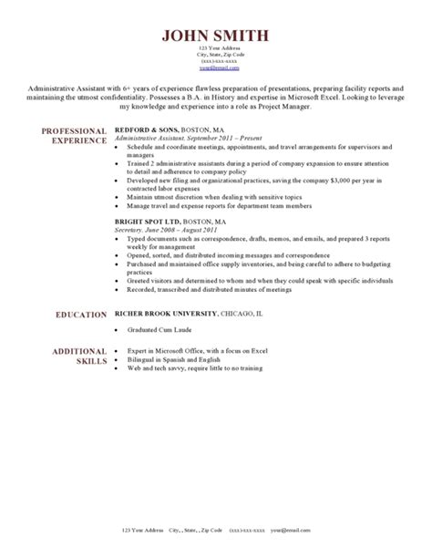 harvard resume template 50 free microsoft word resume templates for