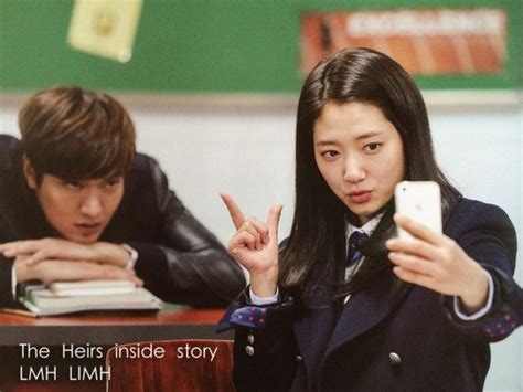 movie lee min ho and park shin hye the heirs lee min and park shin hye funny behind scene