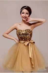 short prom dresses in gold dress blog edin