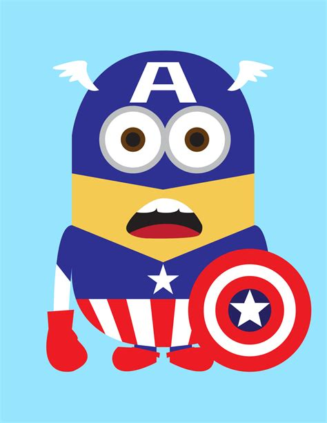 despicable   minions  adorable superheroes