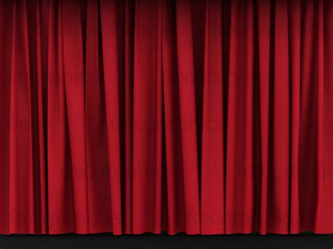 red curtain red stage curtains fox graphics