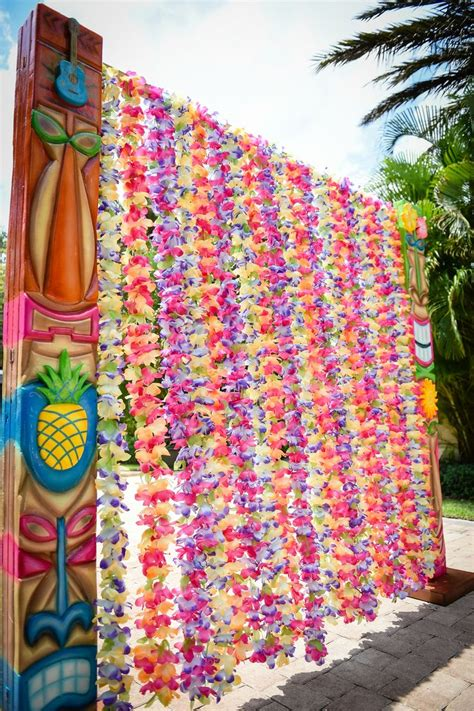 hawaiian themed decorations 25 best ideas about hawaiian decorations on
