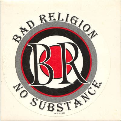 Cd Bad Religion No Subtance bad religion no substance cd at discogs