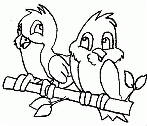 passarinhos namorados desenhos colorir