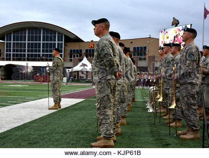 the 36th infantry division marching band participated in