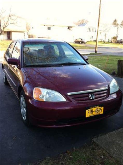 Find Used 2002 Honda Civic Ex Sedan 4 Door 1 7l In