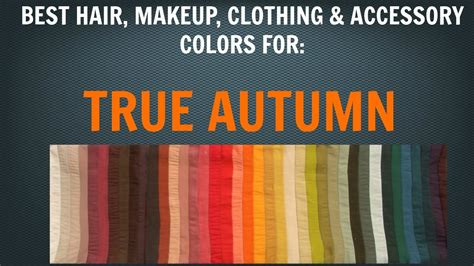 for colors autumn color palette best hair makeup colors