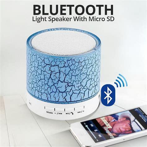 Lu Speaket Led Warna Remote 6 mini led portable bluetooth speakers wireless free with tf usb fm blutooth ebay