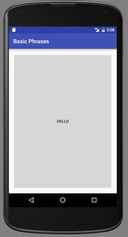android gridlayout gridlayout android
