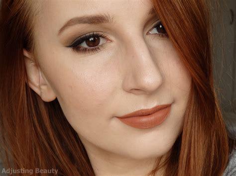 Eyeliner Matte all brown matte makeup adjusting
