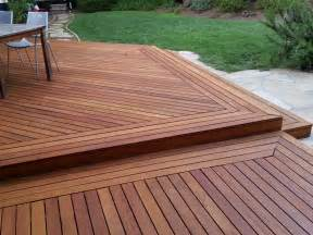 Patio Refinishing Hardwood Garapa Deck Cal Preserving