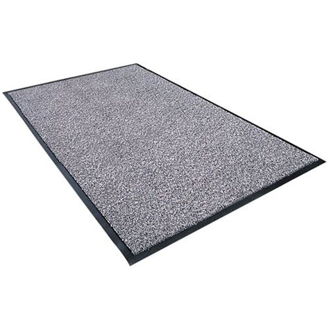 Zap Mat by Crown Mats Matting Sp35 Pew Stat Zap Pewter Heavy Duty