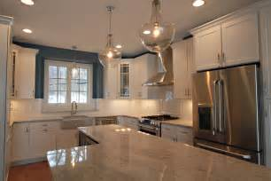 Kitchen Cabinets For Small Spaces river white granite countertops kitchen contemporary with