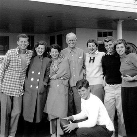 kid friendly biography of john f kennedy jfk with his mother father and five of his siblings