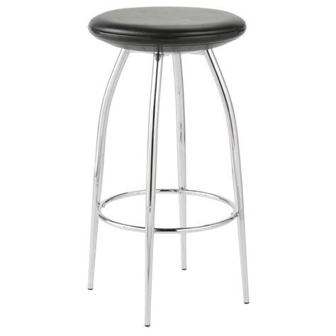 bar stools chrome bernie counter stool black chrome bar stools