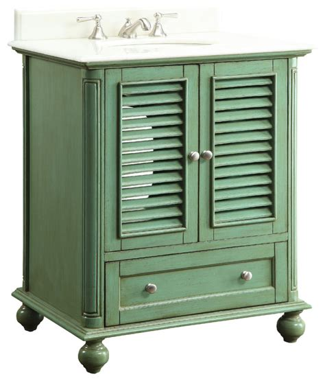 chans furniture gd 1087gn keysville 30 inch green bathroom