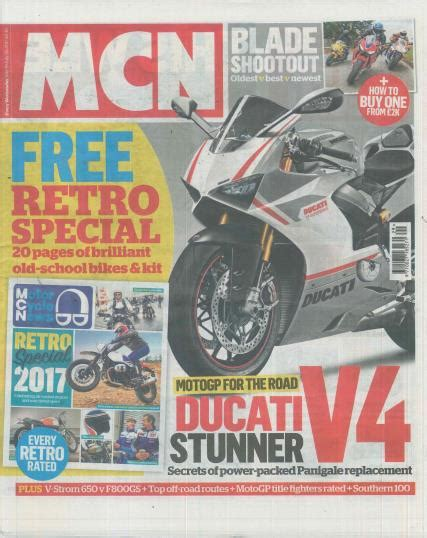 Motorrad News Abo by Motorcycle News Magazine Subscription