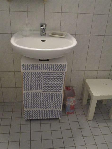 Badezimmer Unterschrank Diy by Utopie Im Kleinformat Diy Unterschrank F 252 Rs Waschbecken