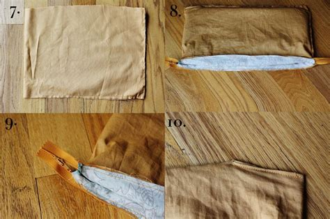 Mess Fabric Ventilation Laundry Bag cotton leather clutch purse diy a beautiful mess