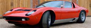 Lamborghini Purchase Lamborghini Miura Auction Purchase Classic Motor Finance