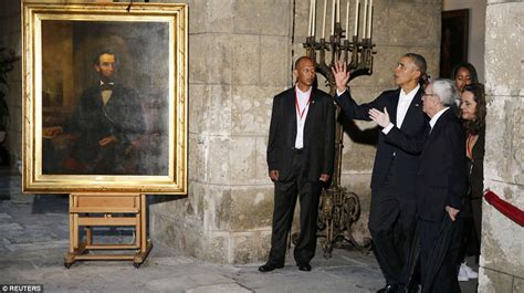 abraham lincoln and barack obama barack obama becomes president to set foot in cuba