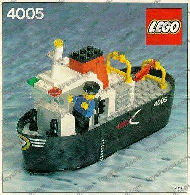 minecraft boat instructions lego 4005 tug boat set parts inventory and instructions
