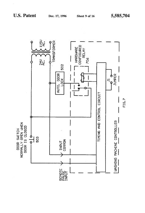 whirlpool semi automatic washing machine circuit diagram
