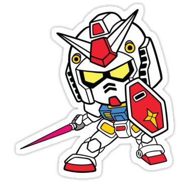 Sticker Stiker Cutting Gundam Rx 78 2 Colour quot mobile suit gundam rx 78 2 quot stickers by nessp redbubble