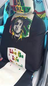 Seat Covers Jamaica 2 Front Seat Bob Marley Rasta Car Seat Covers