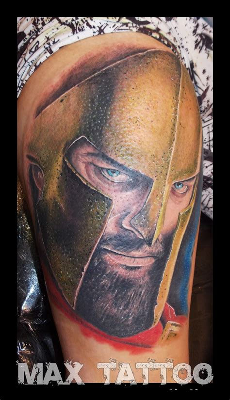 leonidas tattoo pin leonidas from 300 on