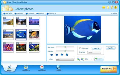 design photo maker free slideshow maker download