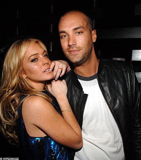 Lindsay Lohan And Calum Best Fight It Out by Lindsay S A Fantastic Says Lover Calum Best