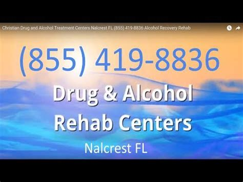 Christian Detox Centers Florida by Christian And Treatment Centers Nalcrest Fl