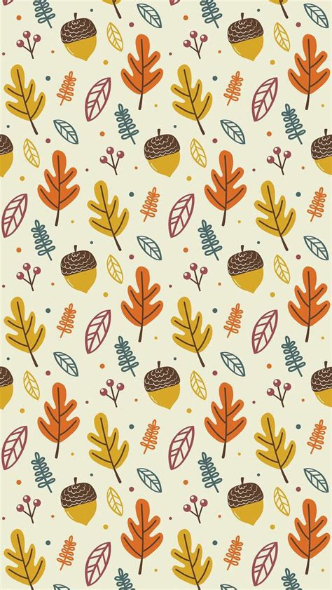 Autumn Pattern Tumblr | wallpaper iphone autumn pattern pinteres