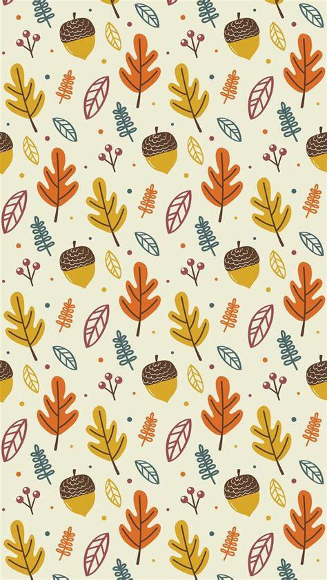 wallpaper iphone autumn pattern clothes art