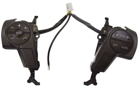 Factory Toyota Parts 2008 2011 Toyota Sequoia Steering Wheel Switches New Brown