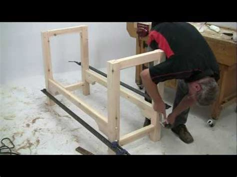 youtube woodworking bench build a workbench build it with bosch youtube