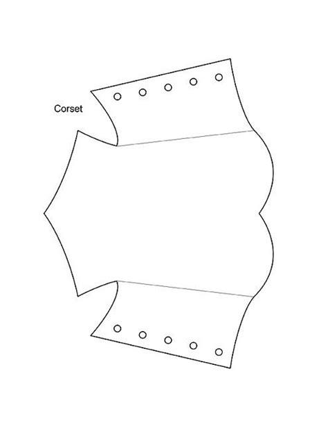 Corset Templates Cards by Corset Card1 Templates Corset Template