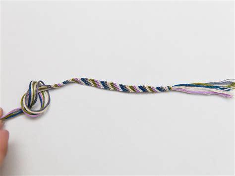 friendship bracelet with how to make a stripe friendship bracelet with pictures