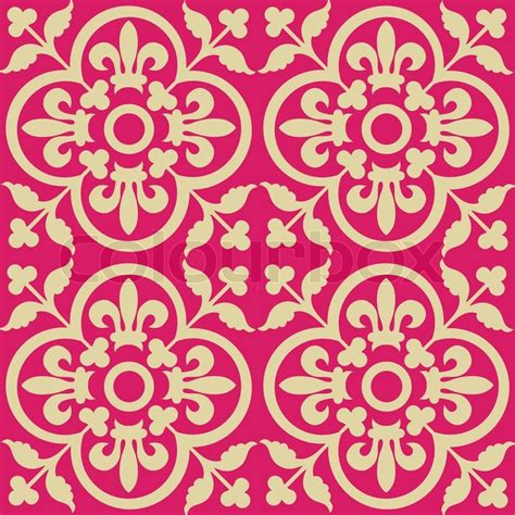 pattern royal vector red royal pattern seamless wallpaper retro background