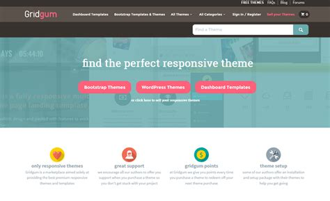 bootstrap themes top 10 best bootstrap themes templates marketplaces to buy
