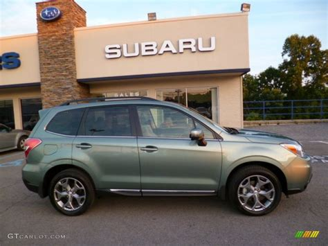 green subaru forester 2015 2015 green metallic subaru forester 2 5i touring