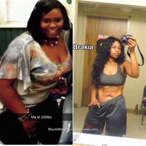 weight loss 90 pounds brakia lost 90 pounds black weight loss success