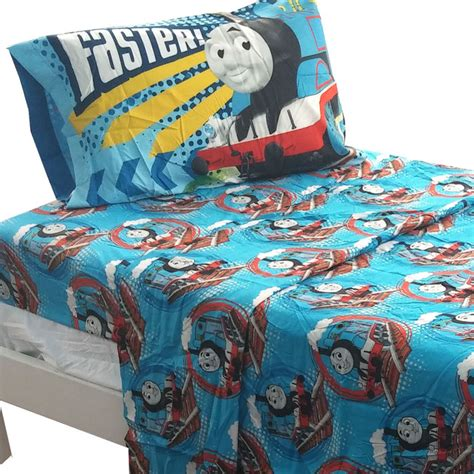 train bedding set thomas train full sheet set tank engine faster bedding