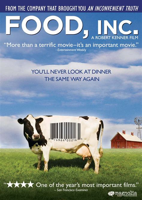 Dvd Documentary Food Inc You Ll Never Look At Dinner The Same Way food inc dvd release date november 3 2009