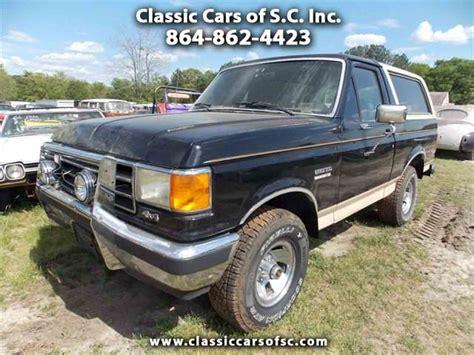 1990 ford bronco for sale classiccars com cc 976597