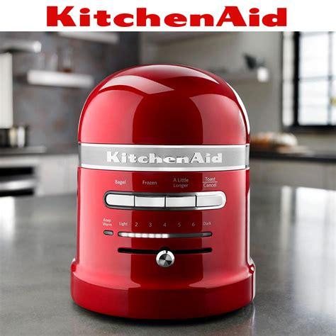 Kitchen Aid Artisan Toaster Kitchenaid Artisan 2 Slot Toaster Almond Cream Cookfunky