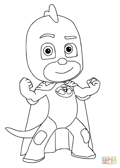 Disegni Da Colorare Pj Mask   Coloring Book Pj Mask